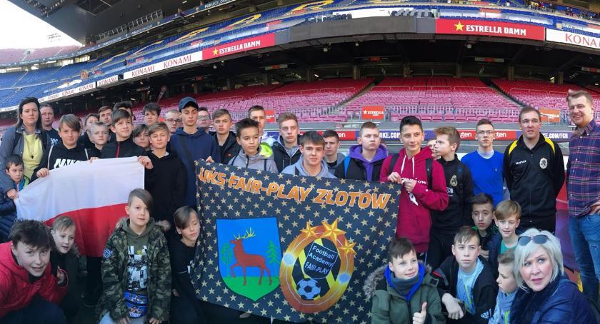 Piłka nożna, Football Academy Złotów obozie Hiszpanii - zdjęcie, fotografia