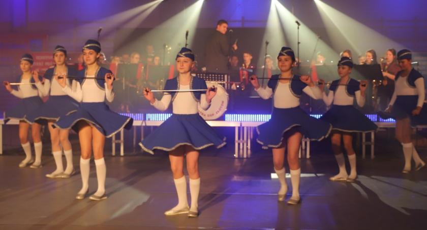 Straż pożarna, Noworoczny Koncert Orkiestry Dętej Złotów - zdjęcie, fotografia