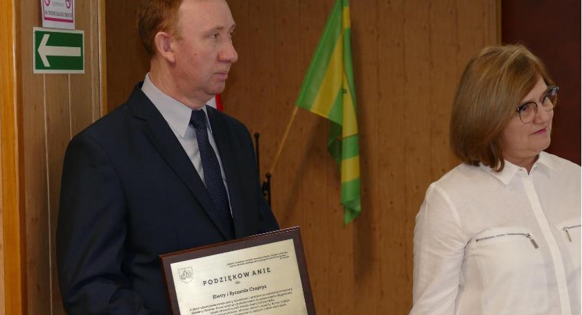 Samorządowcy, Podziękowania Państwa Czuprys - zdjęcie, fotografia