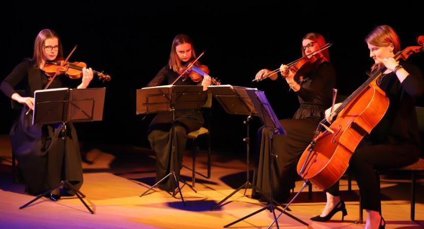 Koncerty muzyka, Kwartet Smyczkowy Sonore wystąpił Złotowie - zdjęcie, fotografia
