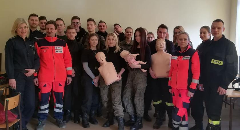 Edukacja, Warsztaty pierwszej pomocy przedmedycznej CKZiU - zdjęcie, fotografia