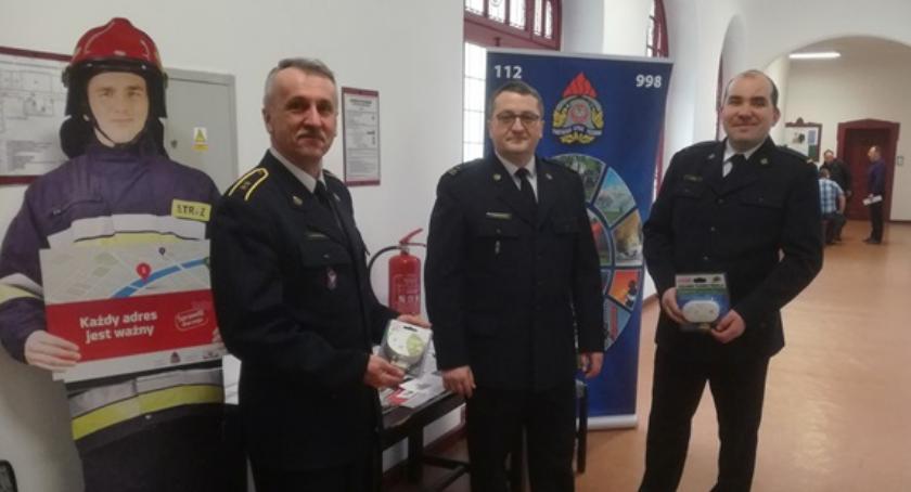 Straż pożarna, Prelekcje prewencyjne strażaków rolników - zdjęcie, fotografia