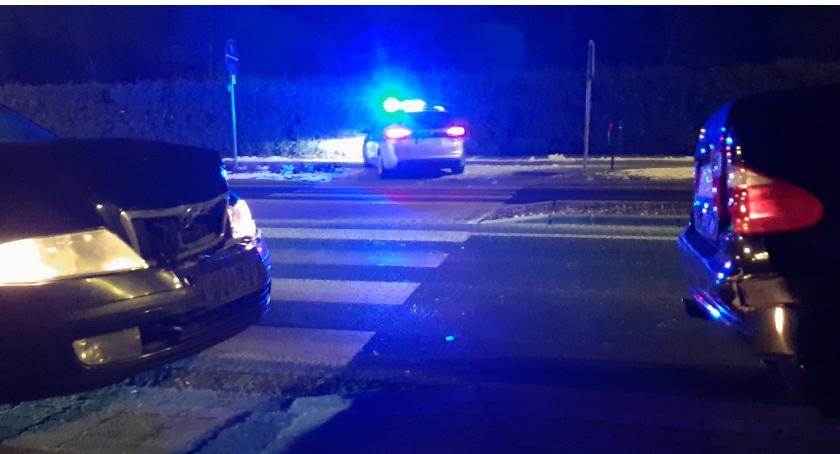 Wypadki drogowe, Kolizja Jastrowskiej przejściu pieszych - zdjęcie, fotografia