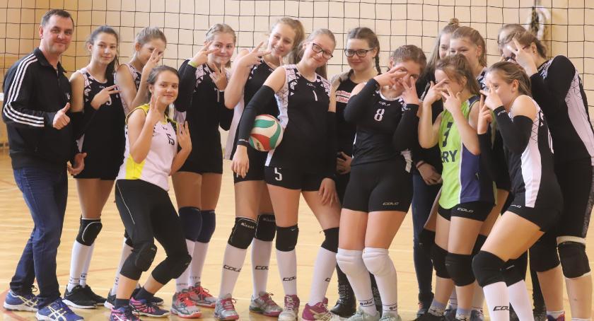 Siatkówka, Podwójne zwycięstwo Spartanek - zdjęcie, fotografia