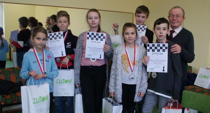 Konkursy i zawody, Otwarty Turniej Szachowy Złotowie - zdjęcie, fotografia