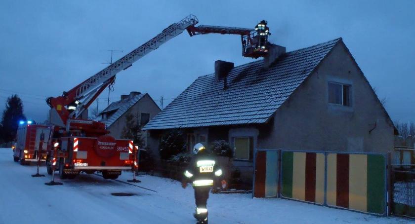 Straż pożarna, Pożar Pieczynku - zdjęcie, fotografia