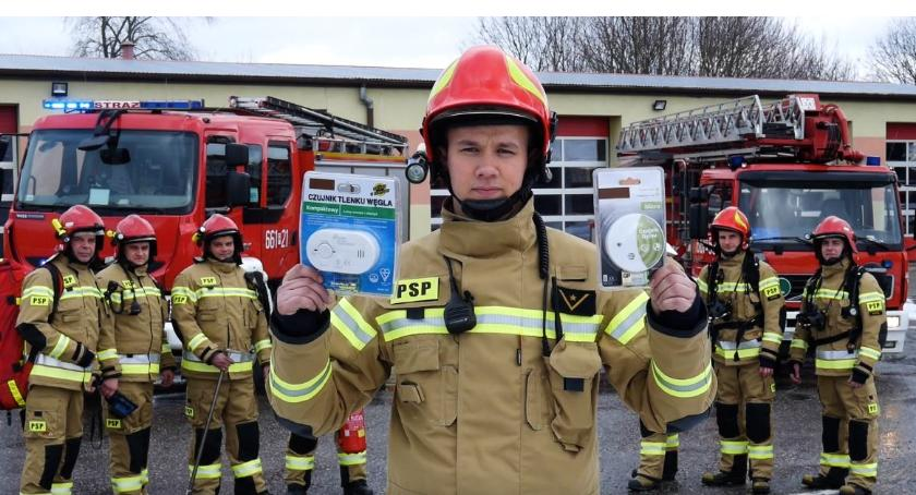 Straż pożarna, edukacyjno informacyjny Państwowej Straży Pożarnej Złotowie - zdjęcie, fotografia