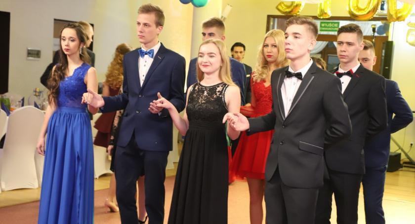 Edukacja, Studniówka Technikum CKZiU Złotowie - zdjęcie, fotografia