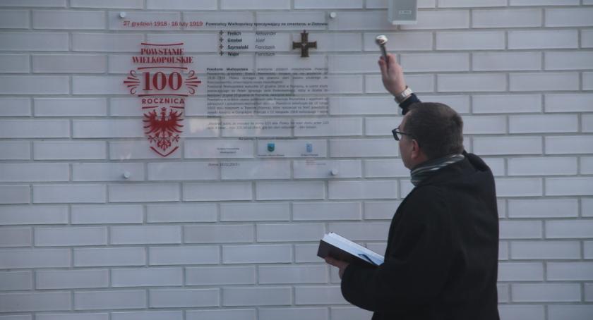 Uroczystości obchody, Powiat złotowski pamięć Powstańców - zdjęcie, fotografia