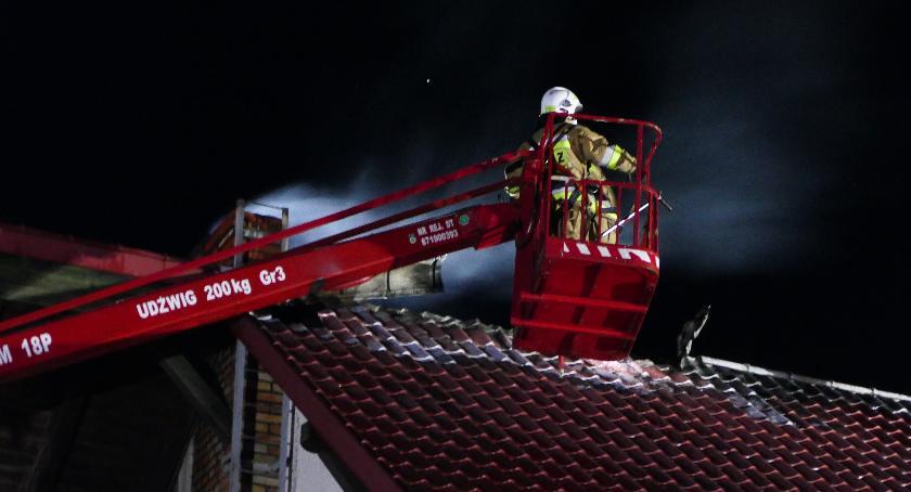 Straż pożarna, Pożar Czernicach - zdjęcie, fotografia