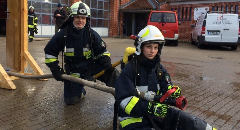 Straż pożarna, Lotyń szkoleniu Niemczech - zdjęcie, fotografia