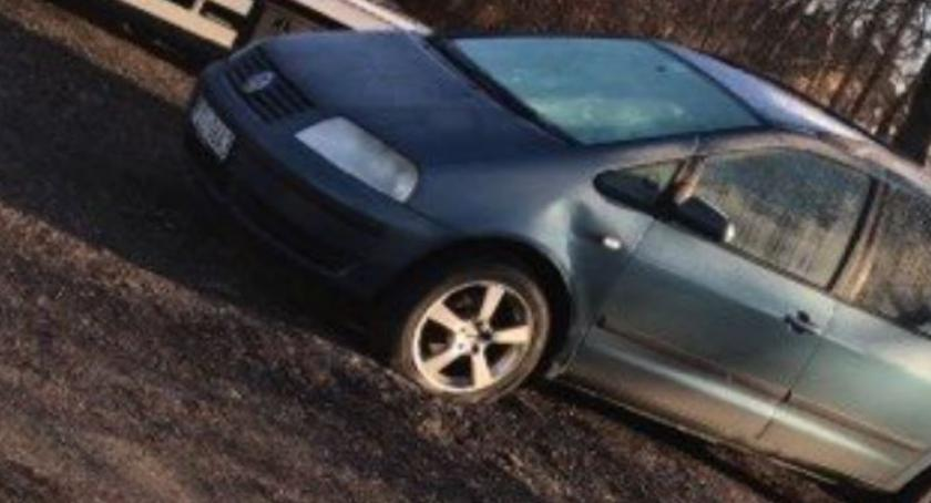Wypadki drogowe, Poszukiwany sprawca kolizji - zdjęcie, fotografia
