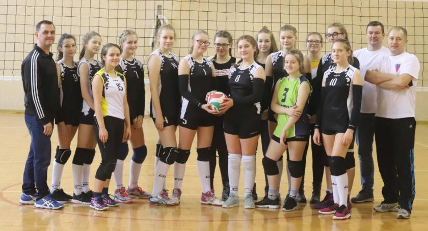 Siatkówka, Podwójne zwycięstwo Spartanek Lidze Młodziczek - zdjęcie, fotografia