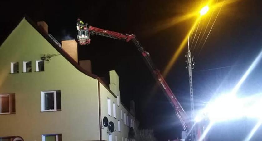 Straż pożarna, Pożar Jastrowiu - zdjęcie, fotografia