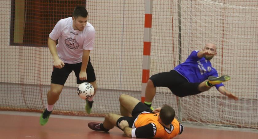 Piłka nożna, Złotowska Futsalu finału - zdjęcie, fotografia