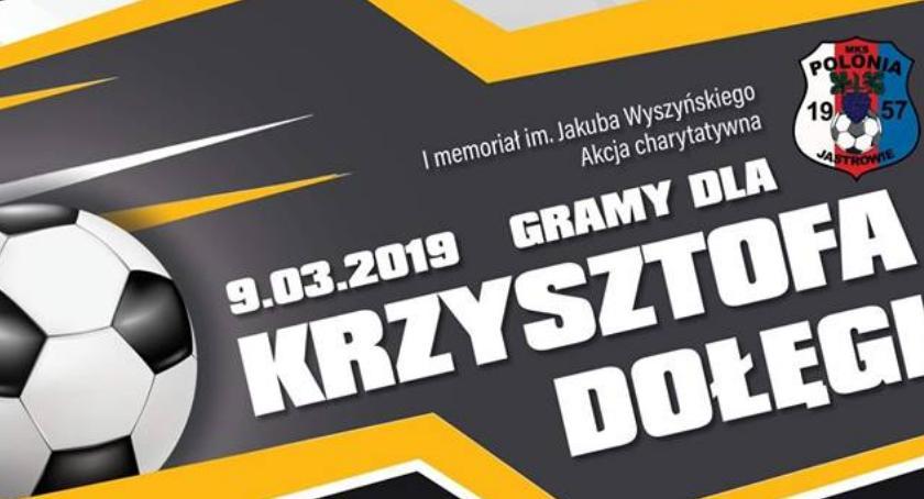 Charytatywnie, Jastrowie zagra Krzysztofa - zdjęcie, fotografia