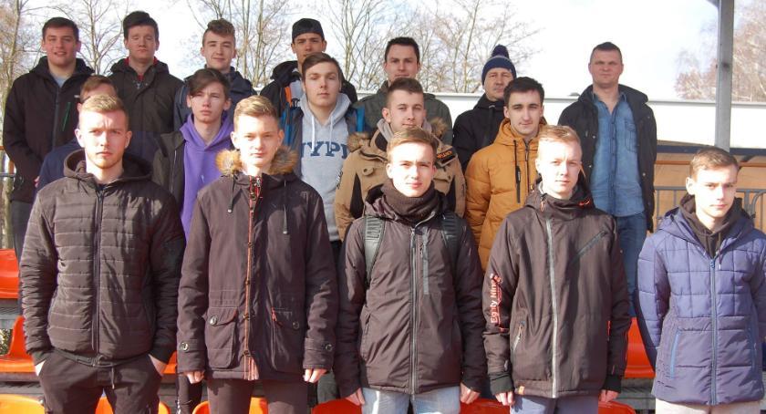 Piłka nożna, Sędziowie szkolili Złotowie - zdjęcie, fotografia