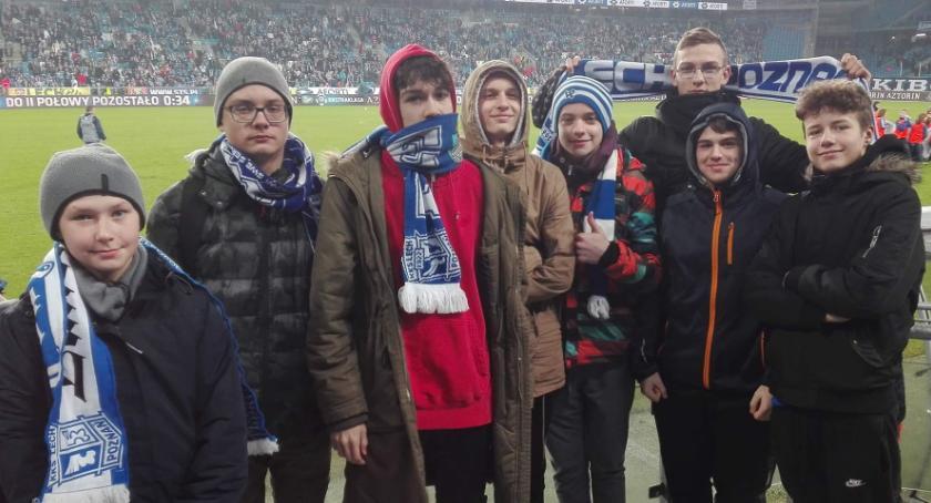 Piłka nożna, Football Academy Złotów meczu Ekstraklasy - zdjęcie, fotografia