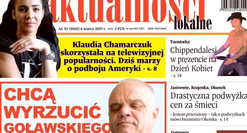 """Książki i publikacje, """"Chcą wyrzucić Goławskiego""""… - zdjęcie, fotografia"""
