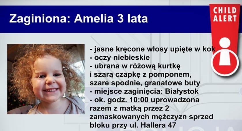 Osoby poszukiwane i zaginięcia, Child Alert - zdjęcie, fotografia