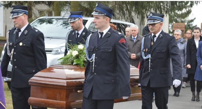 Straż pożarna, Pożegnano seniora Władysława Michonia - zdjęcie, fotografia