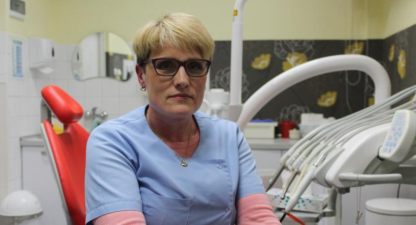Zdrowie i szpital, gryzie dentystę Opowiada Aneta Antosz - zdjęcie, fotografia