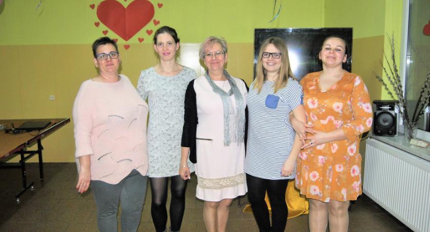 Uroczystości obchody, bawią Panie Scholastykowa - zdjęcie, fotografia