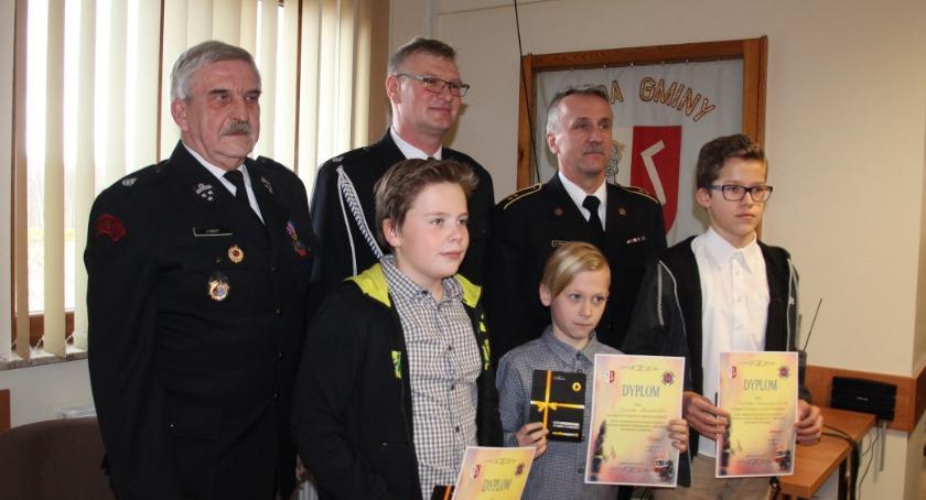 Straż pożarna, Zakrzewie Turniej Wiedzy Pożarniczej zakończony - zdjęcie, fotografia