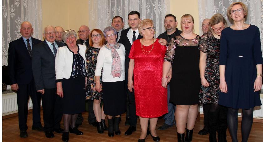 Samorządowcy, Zakrzewscy sołtysi świętują Starej Wisniewce - zdjęcie, fotografia