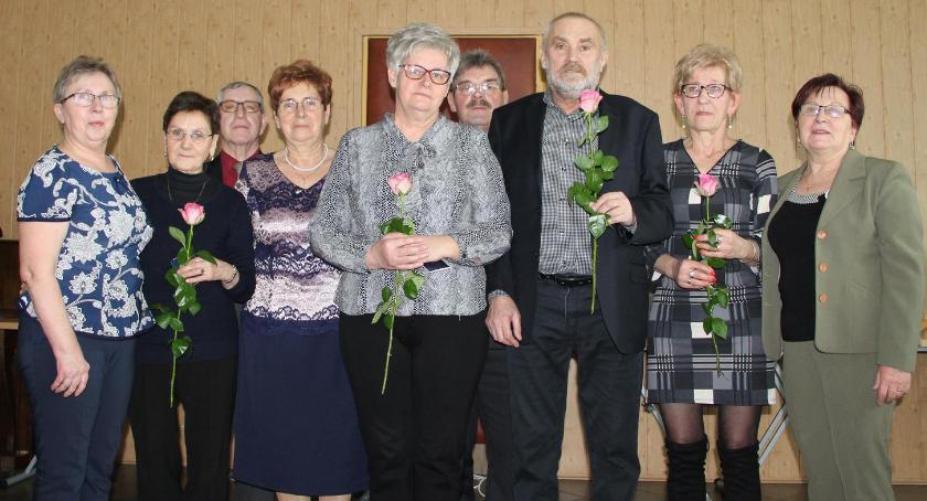 Uroczystości obchody, Dzień Kobiet Mężczyzn Polskiego Związku Emerytów Rencistów Inwalidów Lipce - zdjęcie, fotografia
