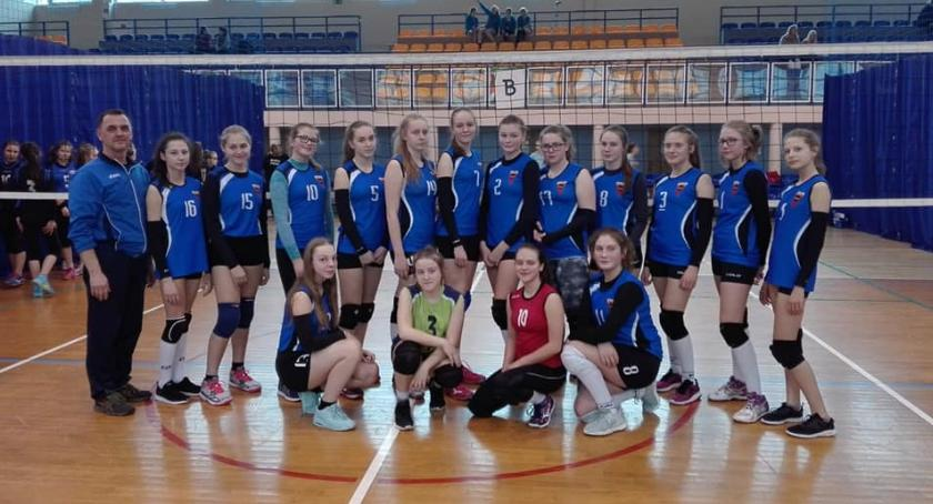 Siatkówka, Spartanki Ogólnopolskim Turnieju Piłce Siatkowej Dziewcząt - zdjęcie, fotografia
