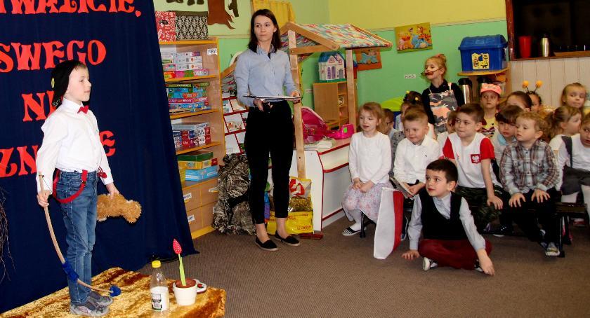 Edukacja, Wiersze zakrzewskim przedszkolu - zdjęcie, fotografia