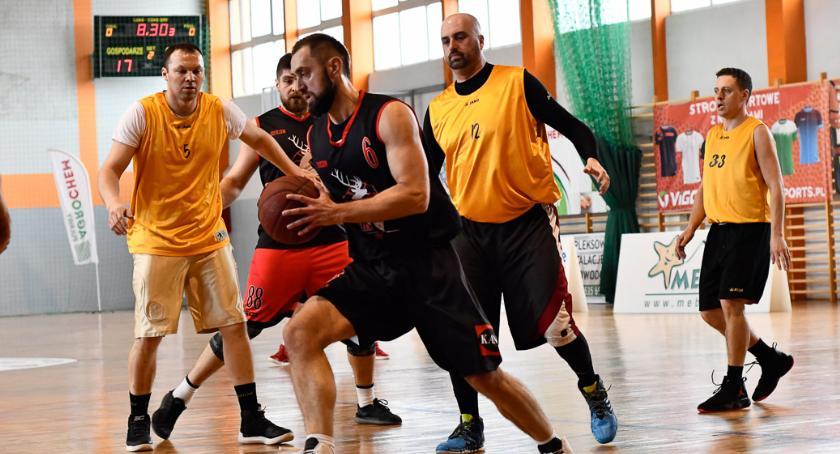 Koszykówka, półfinale CLAK! - zdjęcie, fotografia