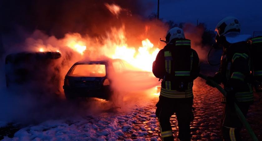 Straż pożarna, Polsko niemieckie gaszenie - zdjęcie, fotografia