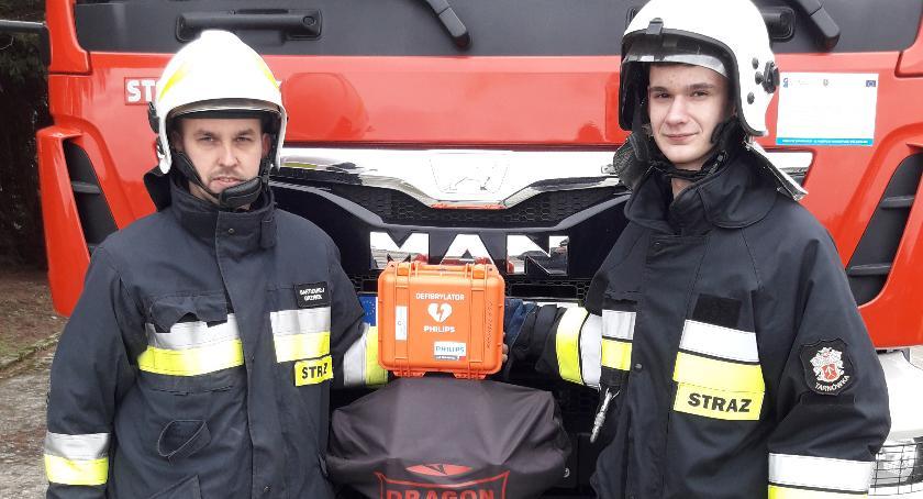 Straż pożarna, Minuty przeżycie - zdjęcie, fotografia