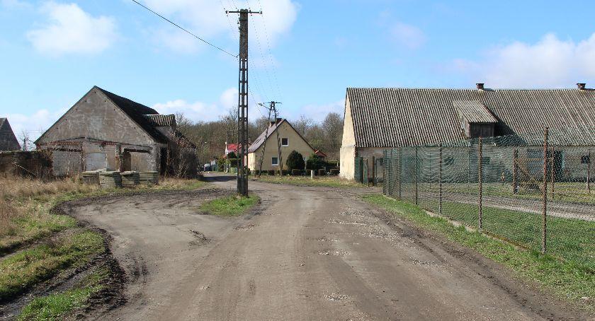Drogi i komunikacja, Będzie droga Lipce Winiarni - zdjęcie, fotografia