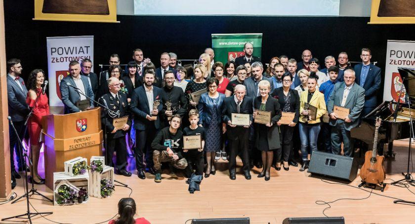 Uroczystości obchody, Nagroda Powiatu Złotowskiego - zdjęcie, fotografia