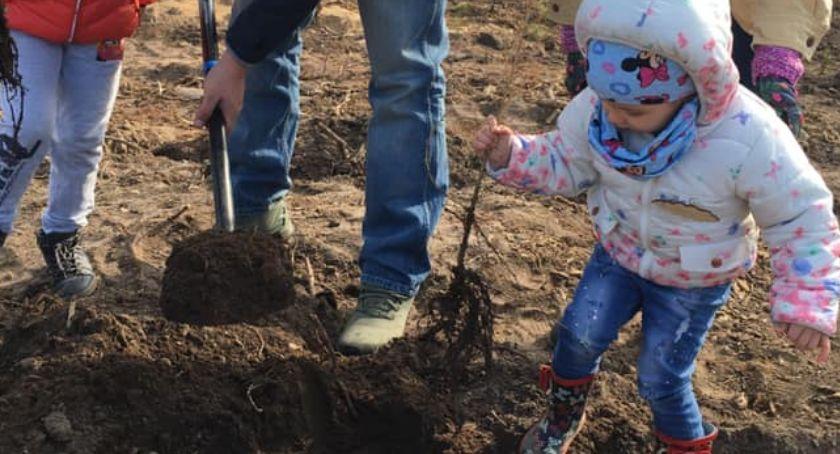 Rolnictwo, Posadź swoje drzewo ramach akcji Narodowego Sadzenia - zdjęcie, fotografia