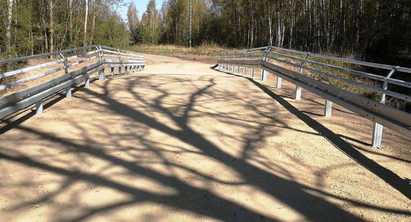 Inwestycje w powiecie, Odebrano zmianę użytkowania nasypu Blękwicie - zdjęcie, fotografia
