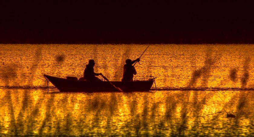 Wędkarstwo, Uwaga wędkarze regulamin połowu Jeziorkach - zdjęcie, fotografia