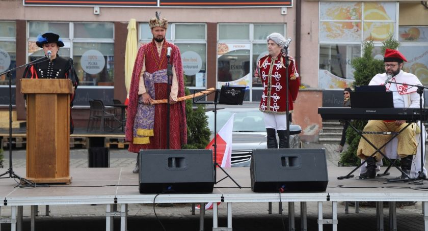 Uroczystości obchody, Rocznica Konstytucji Złotowie - zdjęcie, fotografia