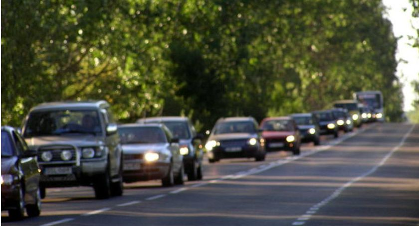 Wypadki drogowe, Nerwowo drogach - zdjęcie, fotografia
