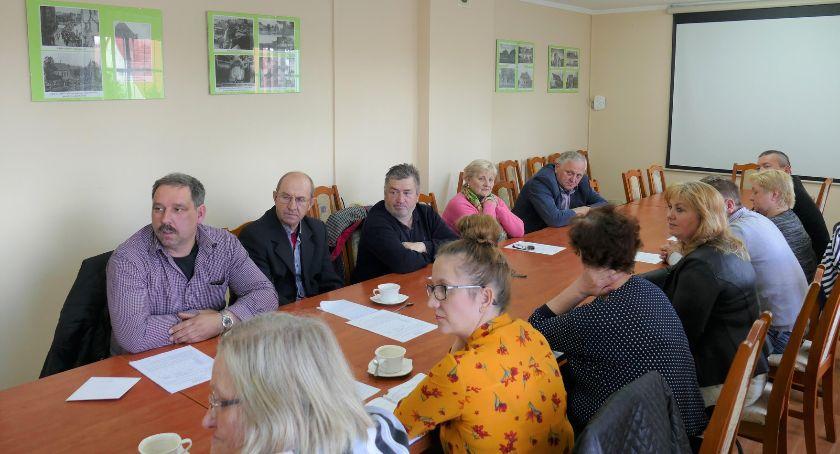 Administracja, Spotkanie sołtysami Lipce - zdjęcie, fotografia