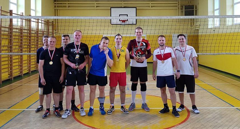 Siatkówka, Turniej siatkówki osobowej Lipce - zdjęcie, fotografia