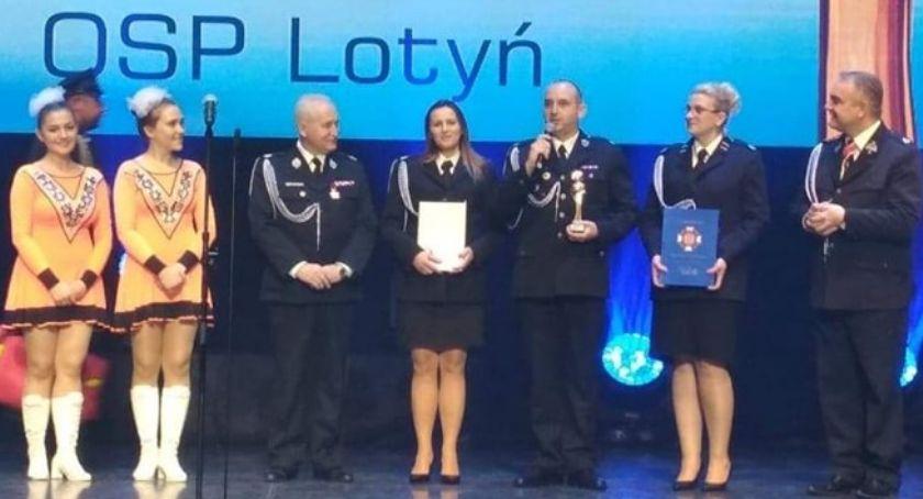Straż pożarna, Lotyń zdobył strażackiego Oskara! - zdjęcie, fotografia