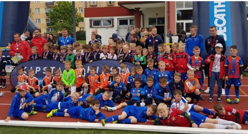Piłka nożna, Żaki Sparta Złotów turnieju Szczecinie - zdjęcie, fotografia