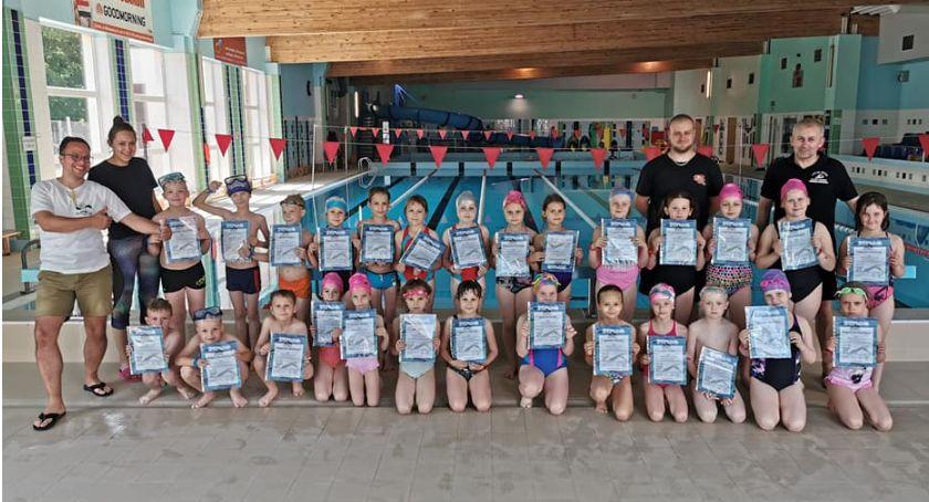 Pływanie, Zakończenie projektu Umiem Pływać Gminy Zakrzewo - zdjęcie, fotografia