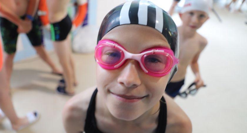 Pływanie, Otwarte Mistrzostwa Szkół Podstawowych Pływaniu - zdjęcie, fotografia