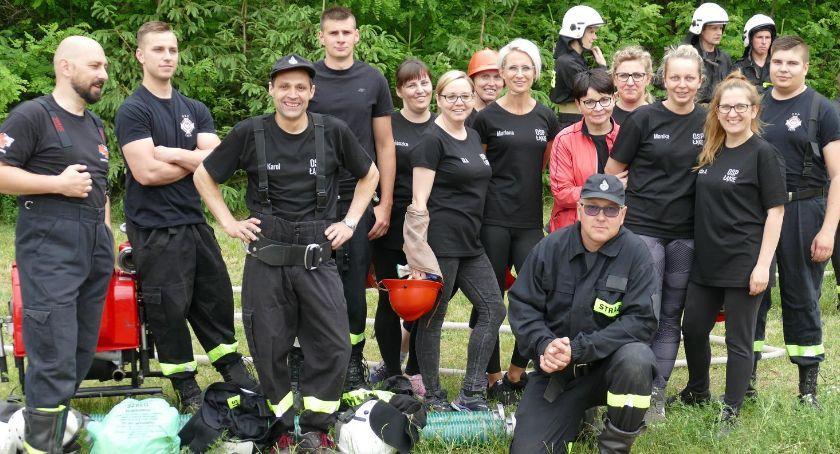 Straż pożarna, Gminne Zawody Sportowo Pożarnicze Łąkiem - zdjęcie, fotografia