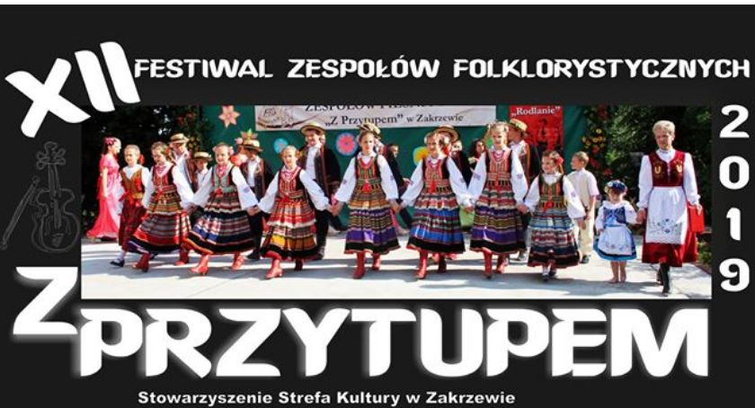 Ośrodki kulturalne, Zapraszamy Festiwal Zespołów Folklorystycznych Przytupem - zdjęcie, fotografia